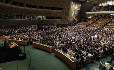 Syria drops off the radar at UN assembly