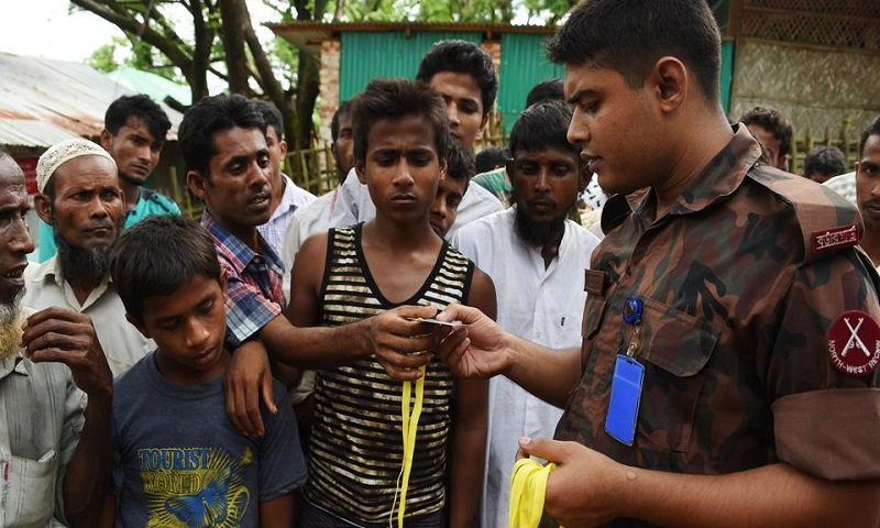 Bangladesh grants bail to two Myanmar journalists detained while reporting on Rohingyas
