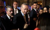 Erdogan protesters beaten and ejected from New York speech