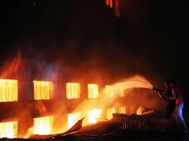 Mother killed, children burnt in Badda fire