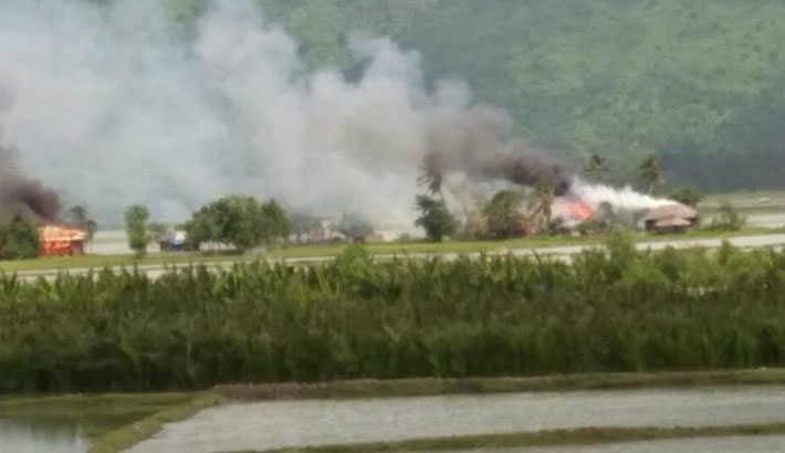 Torching of Rohingya villages continues