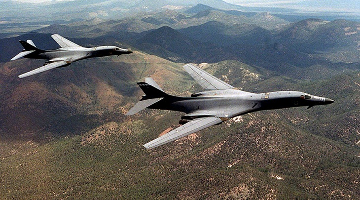 US bombers fly off east coast of North Korea: Pentagon