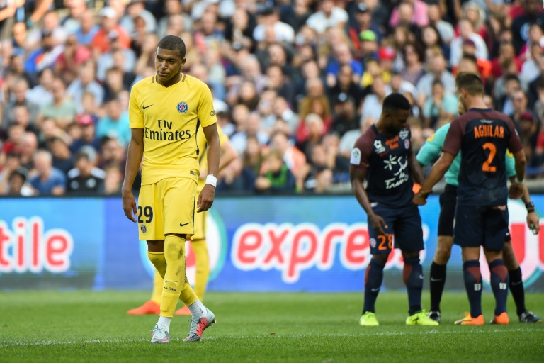 Neymar-less PSG held by Montpellier