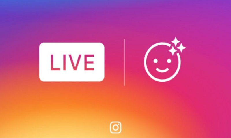 Instagram now adds face filters to live video broadcasts too