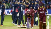 England beat West Indies by 124 runs in 3rd ODI