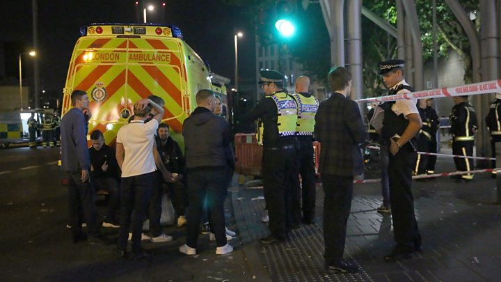 Six injured in east London 'acid attack'