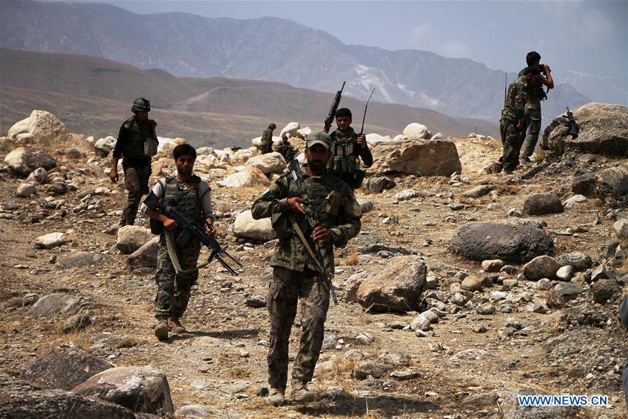 7 IS militants killed in Afghanistan's Nangarhar