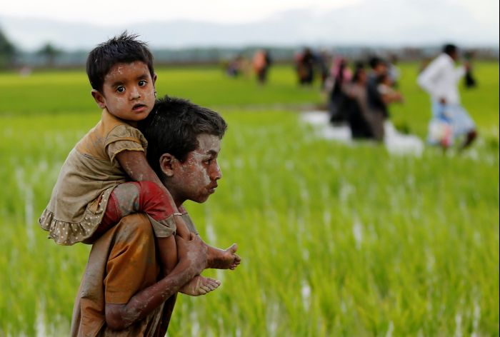 Horrific tale of a rescued Rohingya child