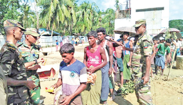 More Indian aid for Rohingyas to arrive soon