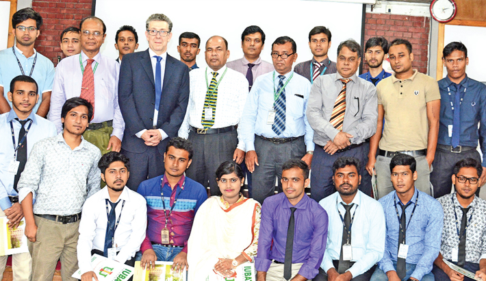 Certificate giving ceremony held at IUBAT