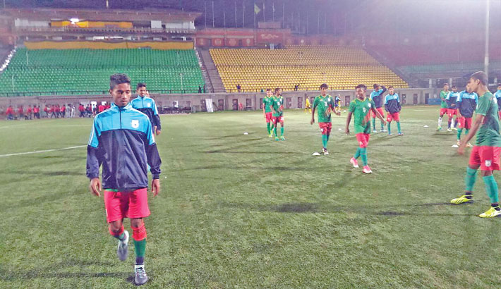 Bangladesh to play Nepal today