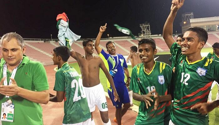 U16 boys triumph hosts Qatar 2-0 in AFC Championship