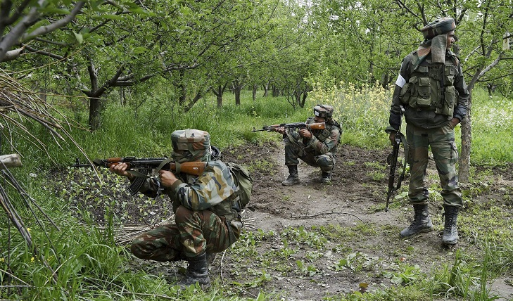 Indian soldiers kill four militants in Kashmir