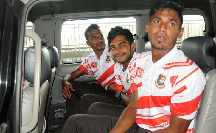 Bangladesh Test squad arrive in Potchefstroom