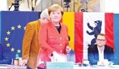 Merkel heads for fourth term as Germans vote