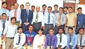 Certificate giving ceremony held at IUBAT