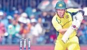 Australia restricted to 293 despite Finch's 124