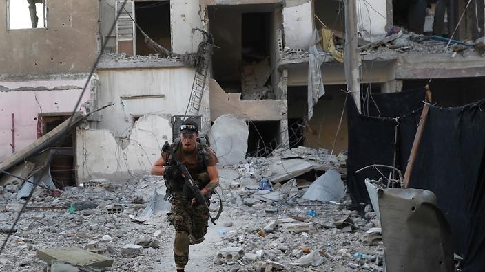US-led strikes killed 84 civilians near Syria's Raqqa: HRW