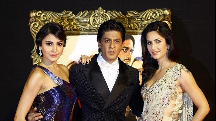 Katrina joined us, Anushka to join soon: Shah Rukh on upcoming film