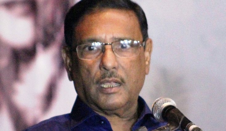 Khaleda is staying abroad in crisis of the country, says Obaidul Quader