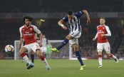 Lacazette double gives Arsenal 2-0 win over West Brom in EPL