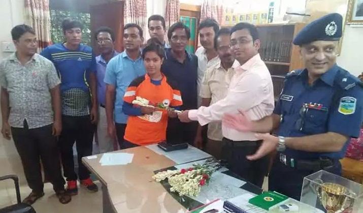 Bangladesh U15 girls striker Sabina Yesmeen passes away