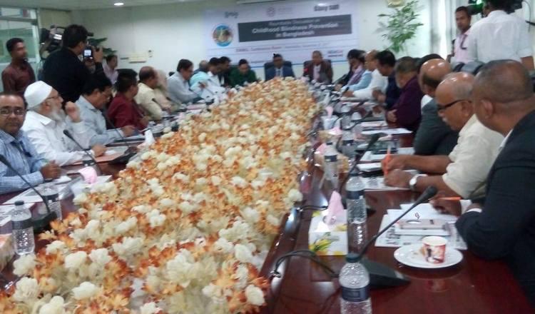 Roundtable on childhood blindness prevention held