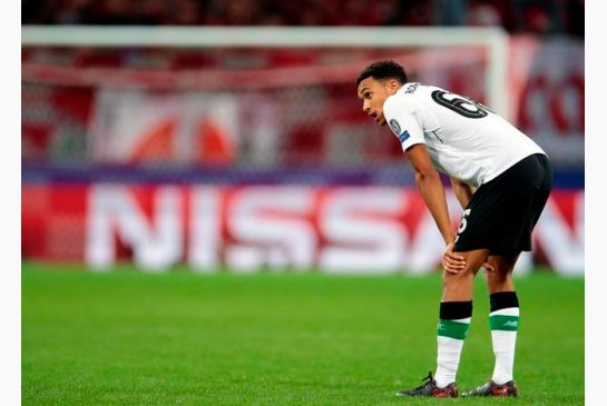 Misfiring Liverpool held to 1-1 draw by Spartak Moscow