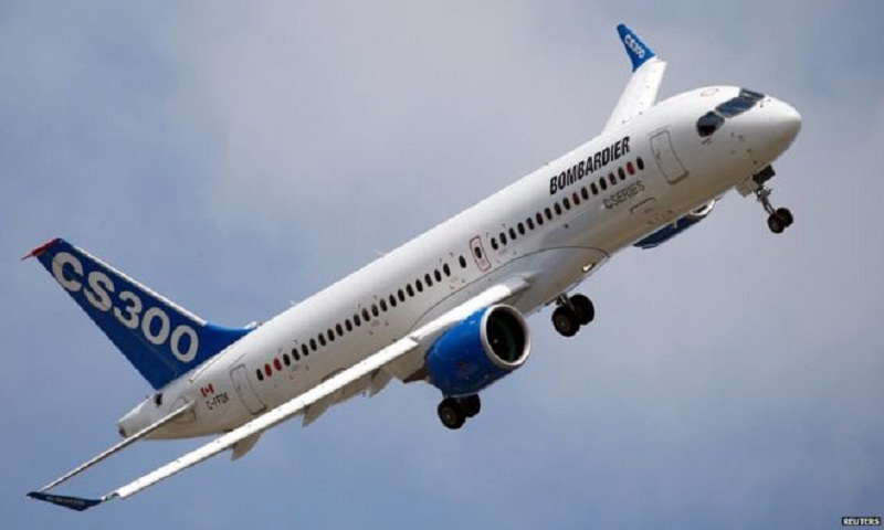 Bombardier hit by tariff in Boeing row