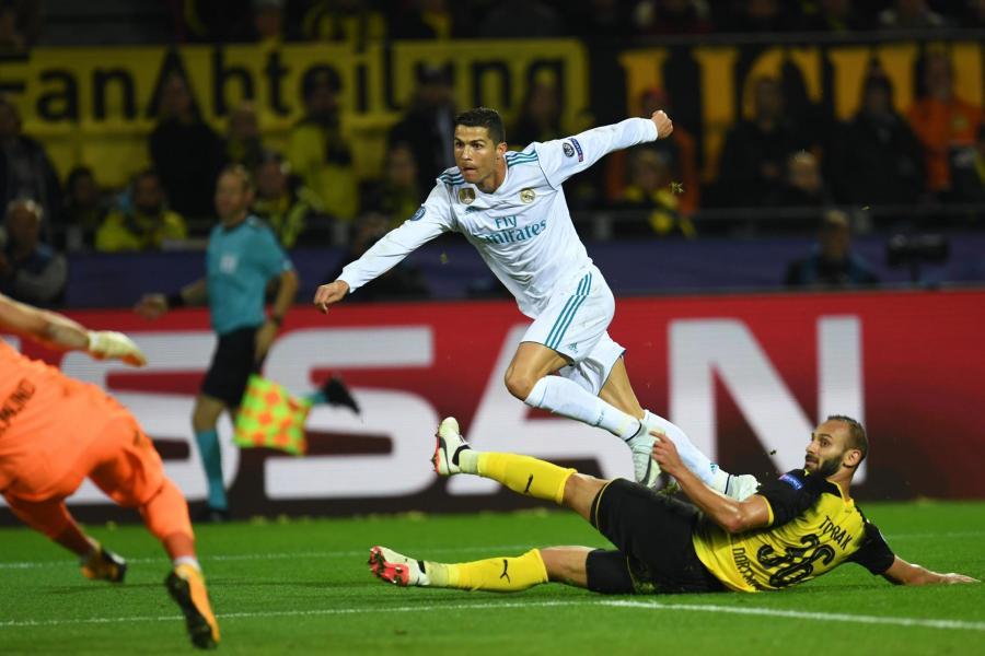 Ronaldo nets twice as Real Madrid win in Dortmund