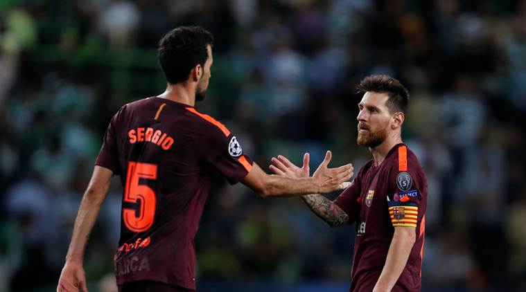 Barcelona needs own-goal to beat Sporting Lisbon 1-0