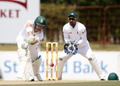 Proteas 99/0 at lunch against Bangladesh