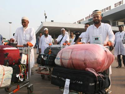 88,000 hajj pilgrims return