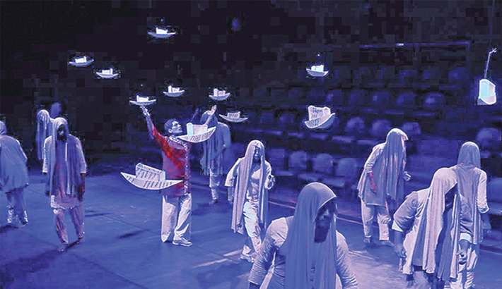 Youth Theatre Festival begins at Shilpakala Academy