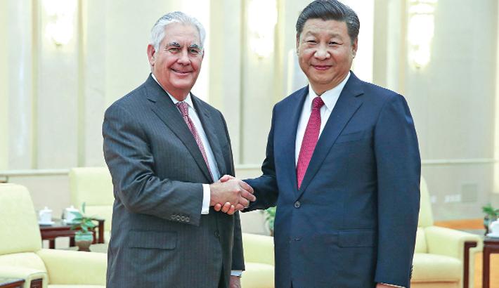 Tillerson calls for calming of situation on Korean Peninsula