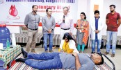 Voluntary blood donation programme held at IUB