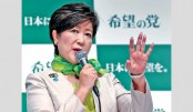 Tokyo governor Koike's party threat to Abe, shows poll