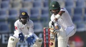 Pakistan 266-4 in 1st test, trails Sri Lanka by 153 runs