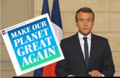 Macron trumps Trump with 'Make Climate Great Again' campaign