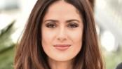 Salma Hayek goes for blonde look