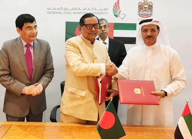BD, UAE sign air service deal to expand aviation ties
