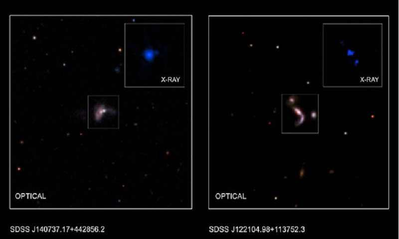 Five supermassive black hole Pairs discovered