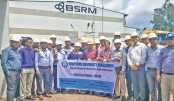 SU MBA students visit BSRM factory