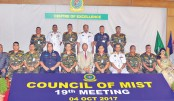 19th council meeting held at MIST