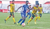 10-man Saif SC hold Sk Russel to share points