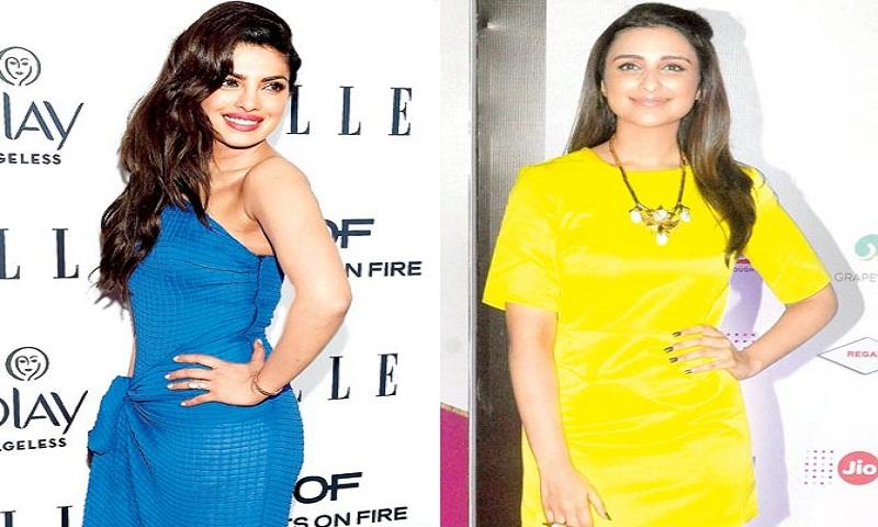 Priyanka Chopra hands over the baton to cousin Parineeti Chopra