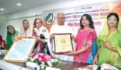 BWJF honours NPC gen secy Farida Yasmin