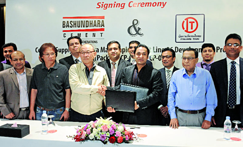 Bashundhara to supply cement to Metro Rail project