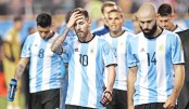 Messi, Argentina in World Cup peril
