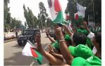 Awami League men accord grand reception to prime minister